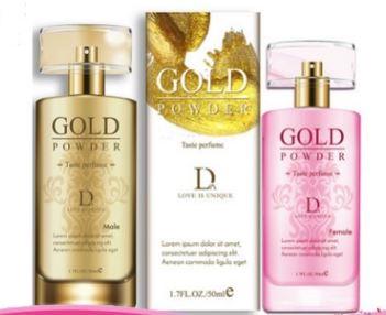 Gold Powder Taste Perfume Attract Opposite Sex Perfume