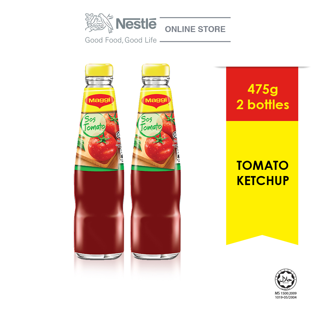 MAGGI Tomato Ketchup 475g x2 bottles
