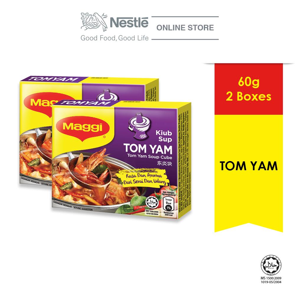 MAGGI TomYam Cube 60g x2 boxes