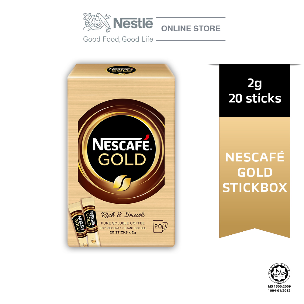 NESCAFÉ GOLD Coffee Stickbox 20stick x 2g Each