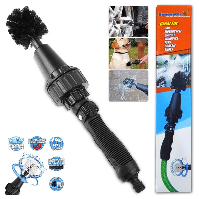 THE RENOVATOR Brush Hero - The Ultimate Car Wheel Wash Detail Brush Tool