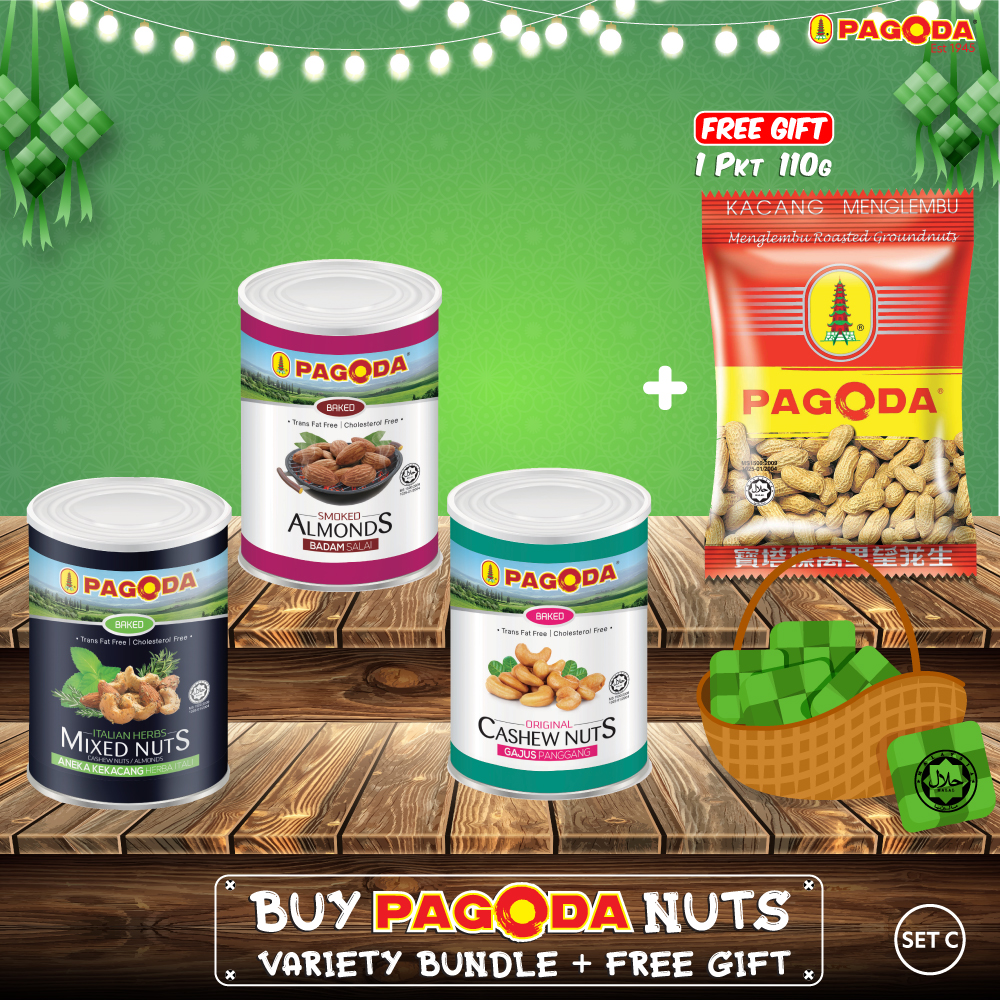 Pagoda Nuts Variety Bundle + Free Gift (SET C)
