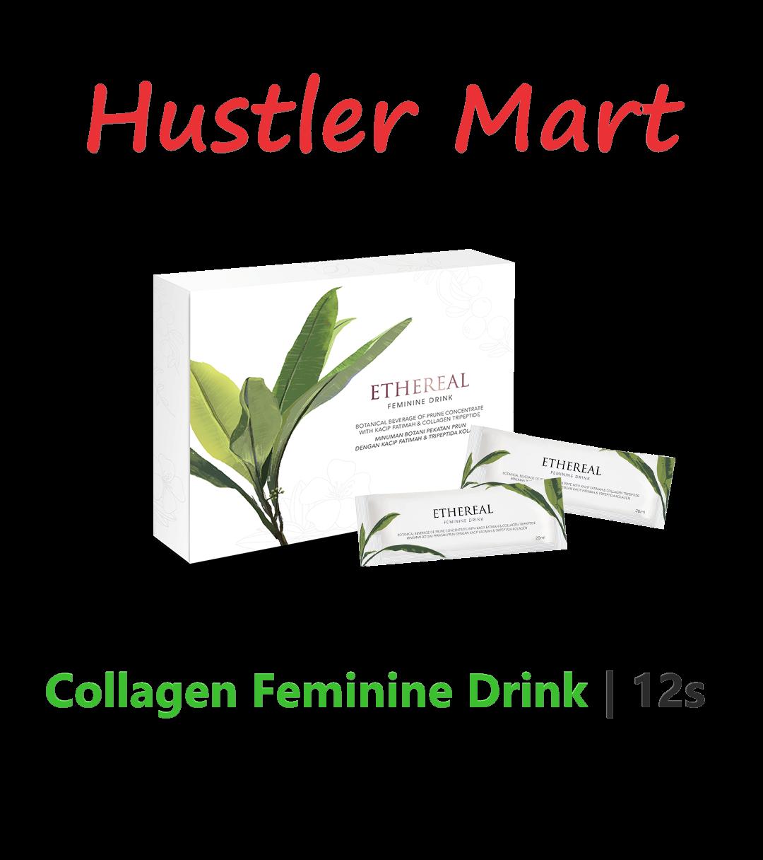 Ethereal Collagen Feminine Drink 12s
