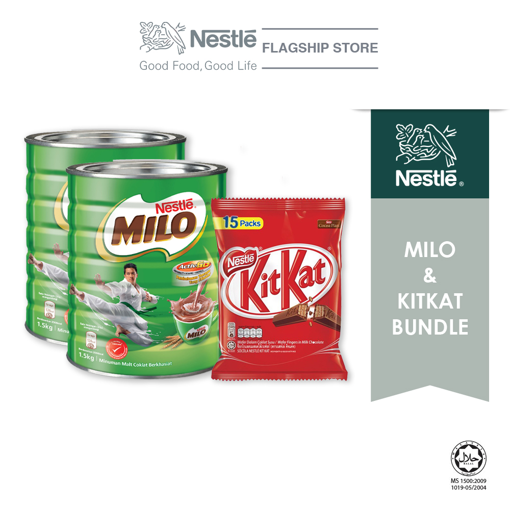Nestle Milo Chocolate Bundle (Milo + Kitkat)