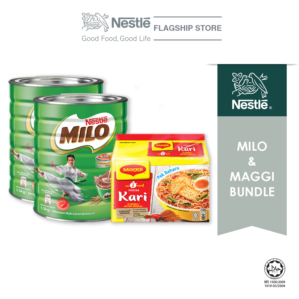 Nestle Lunch Bundle (Milo + Maggi)