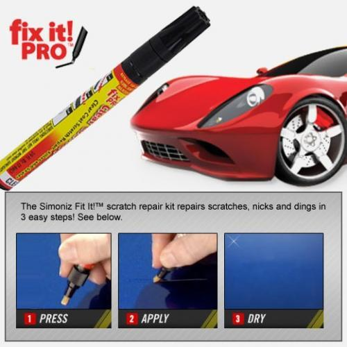 Fix It Pro Pen Car Scratch Repair Sealer Cover