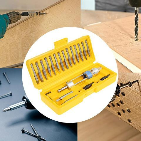 Half Time Drill High Speed Drill Driver Screwdriver Kit