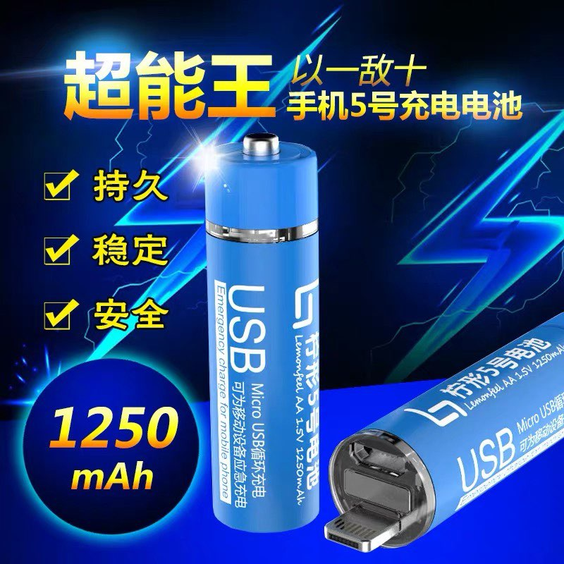 USB Micro USB Emergency Charger for Mobile Phone