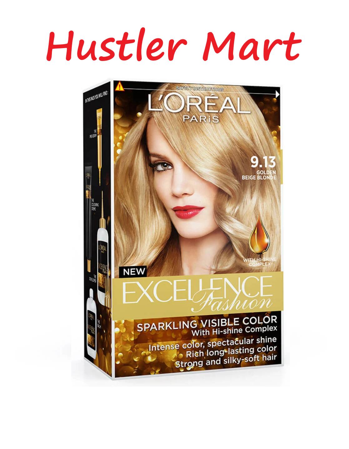 L'Oreal Paris EXCELLENCE Fashion Golden Beige Blonde 9.13