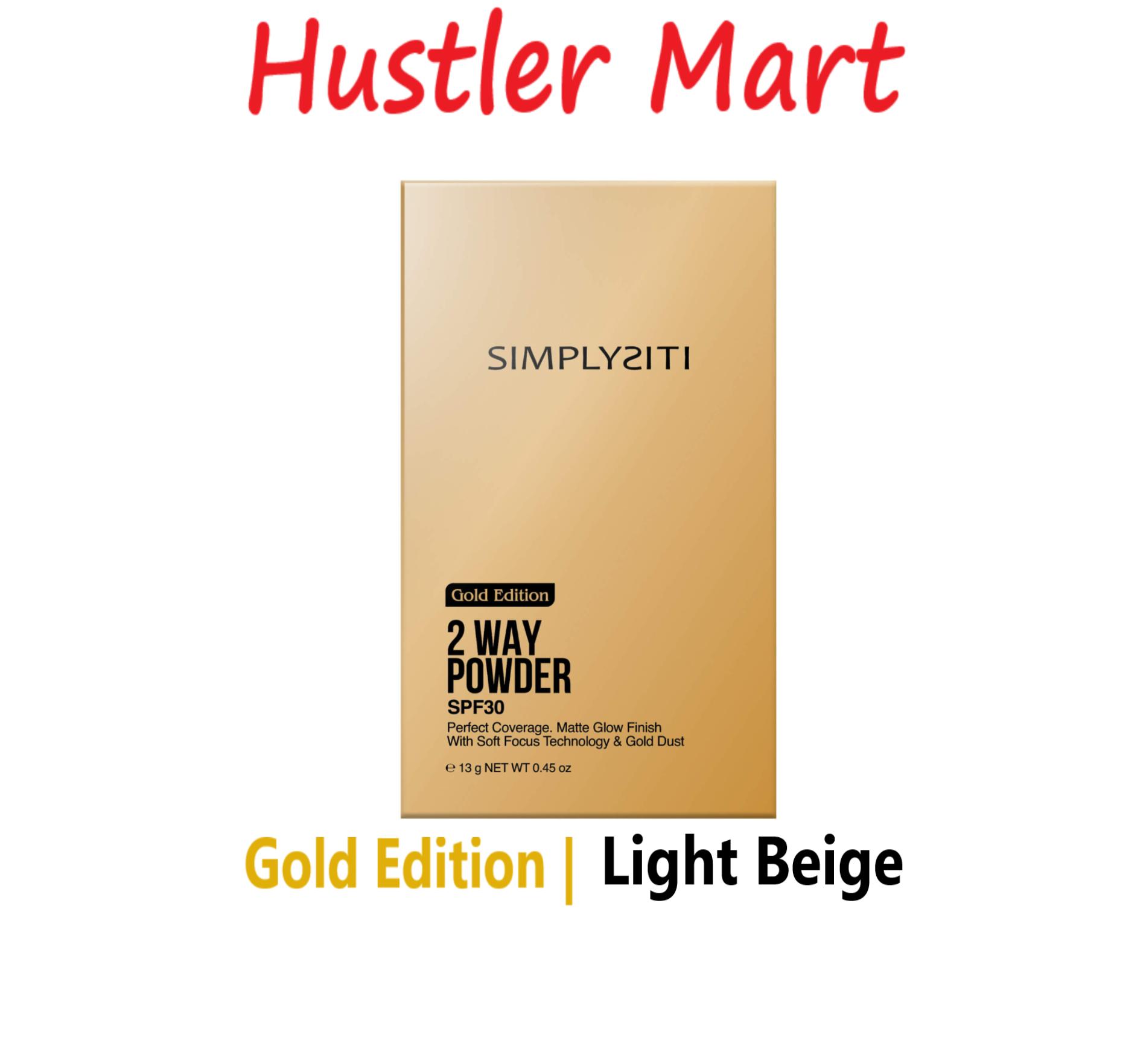 Gold Edition 2 Way Powder Light Beige GTP01