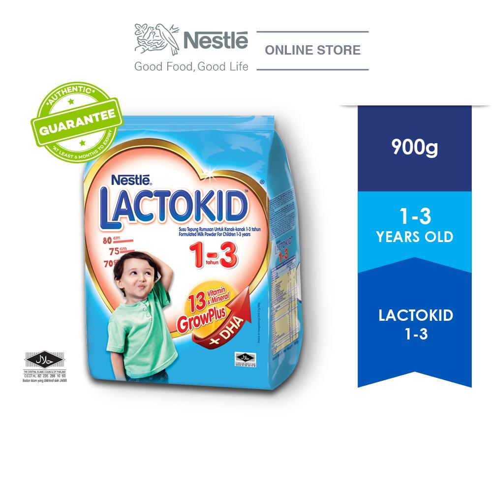 LACTOKID 1-3 without Probiotics Soft Pack 900g