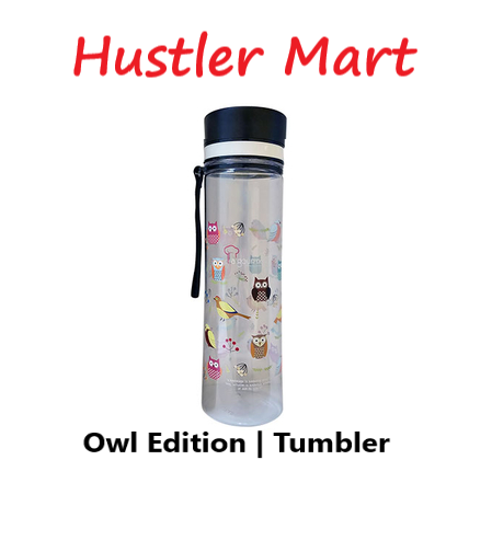 La Gourmet 1.0L Tritan Owl Collection Water Bottle