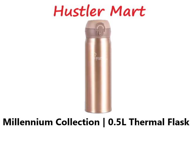 La gourmet New Millenium Super Light 0.5L Thermal Flask (Brown)
