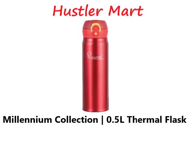 La gourmet New Millenium Super Light 0.5L Thermal Flask (Red)