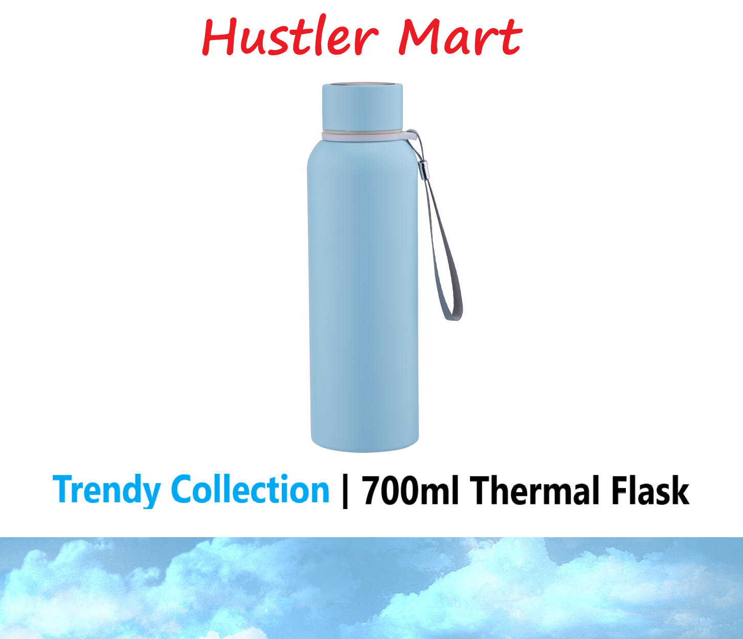La Gourmet Trendy Collection 700ml Thermal Flask Tumbler