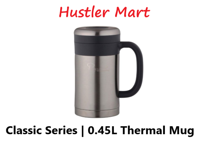 La Gourmet Classic 0.45L Thermal Mug with SUS304 Stainless Steel