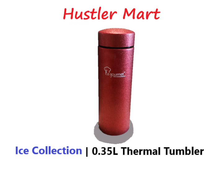 La Gourmet ICE COLLECTION 0.35L Thermal Tumbler - Red