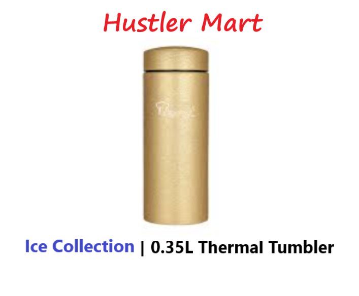 La Gourmet ICE COLLECTION 0.35L Thermal Tumbler - Gold