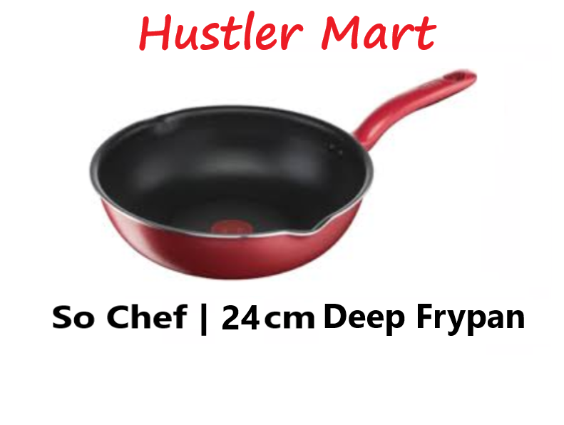 Tefal So Chef Deep Frypan 24cm