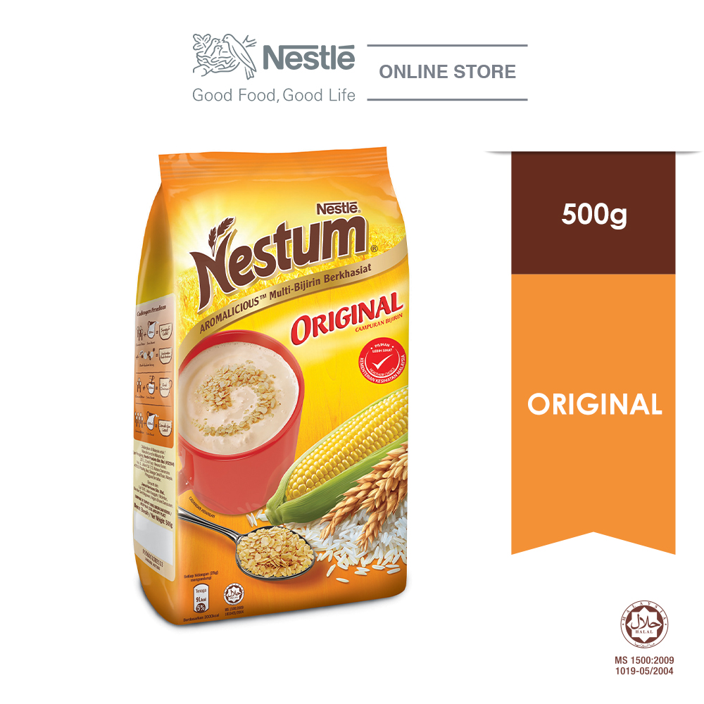 NESTLE NESTUM All Family Cereal Original Softpack 500g