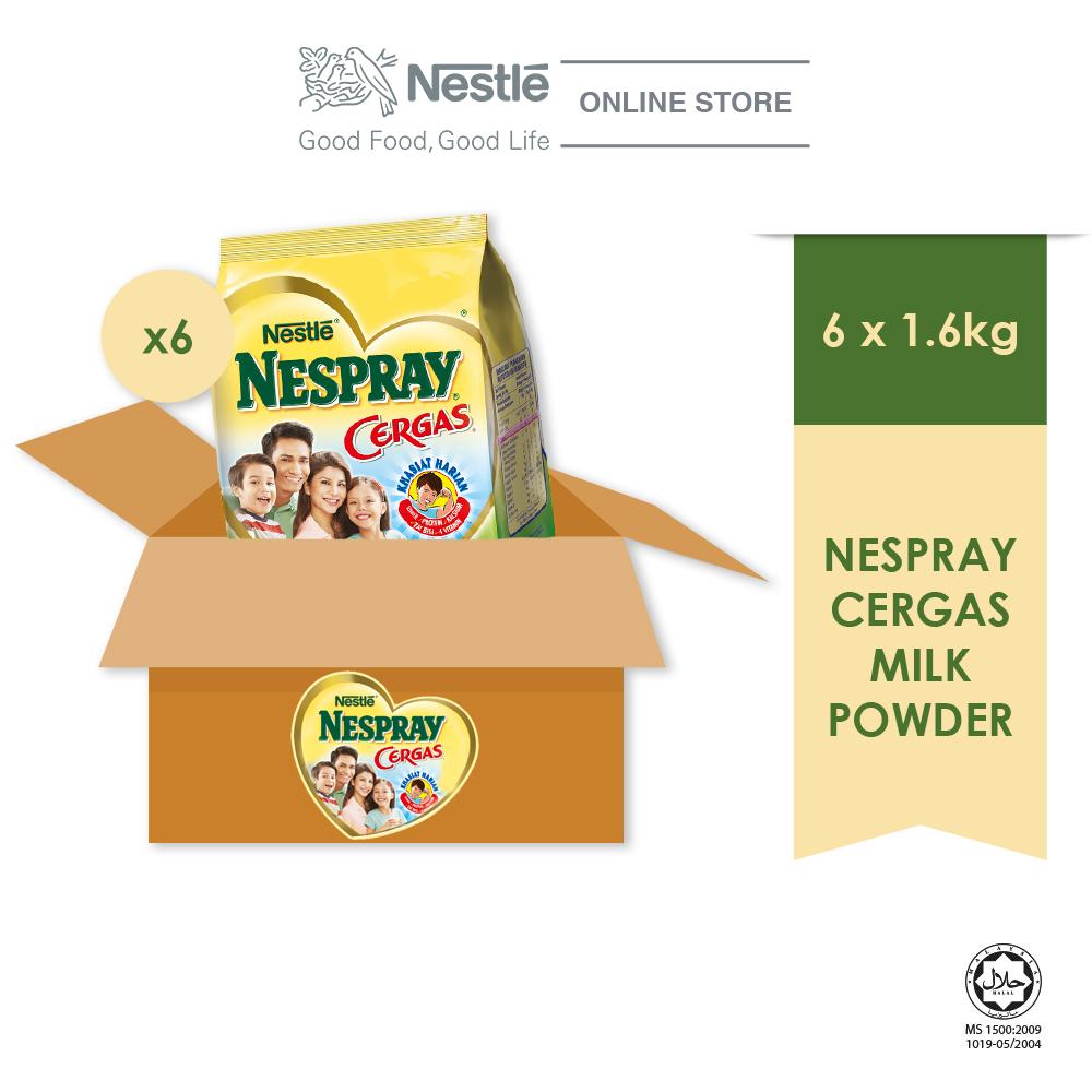 NESPRAY Cergas Powder Softpack 1.6kg x 6packs (Carton)