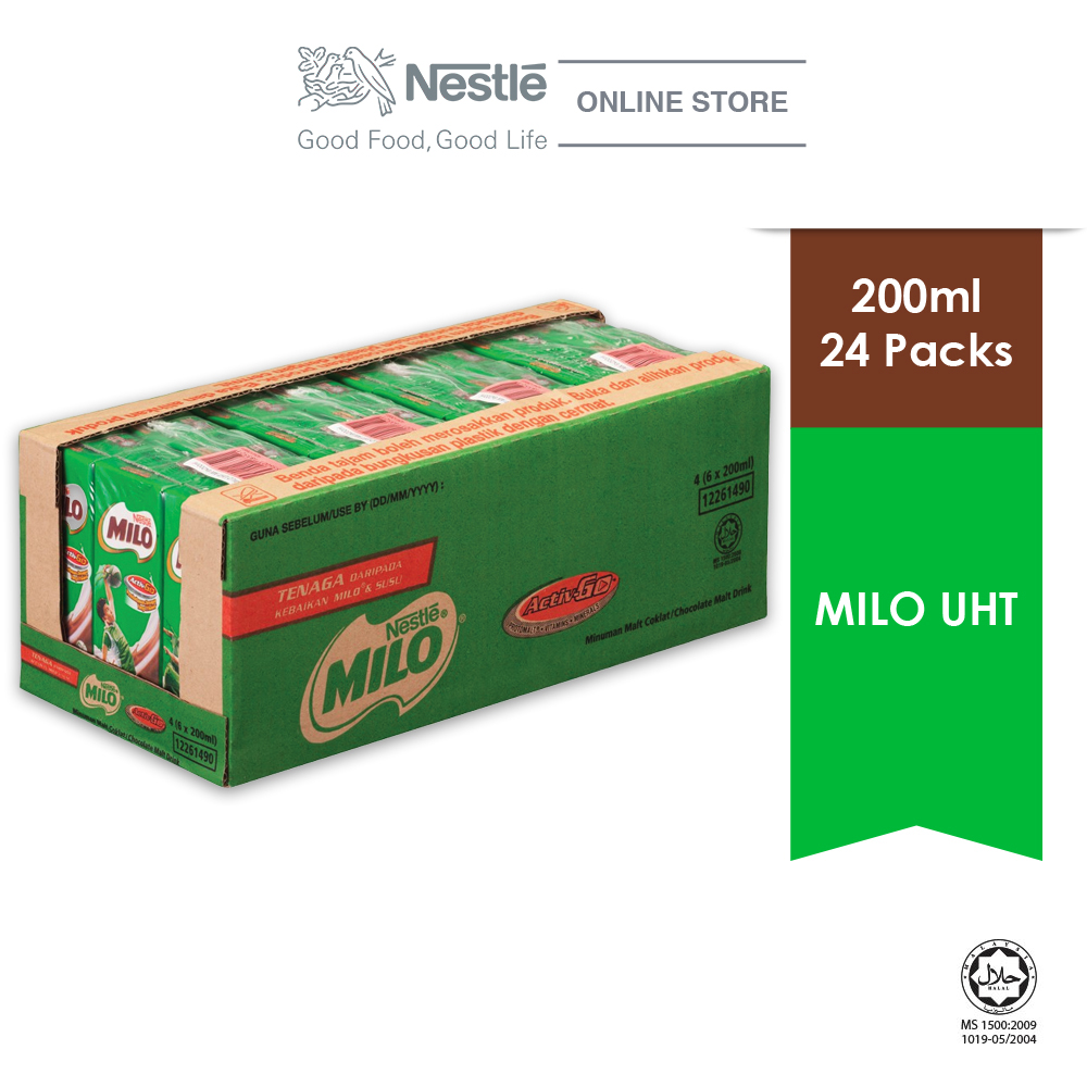 MILO ACTIV-GO UHT 24 Packs 200ml