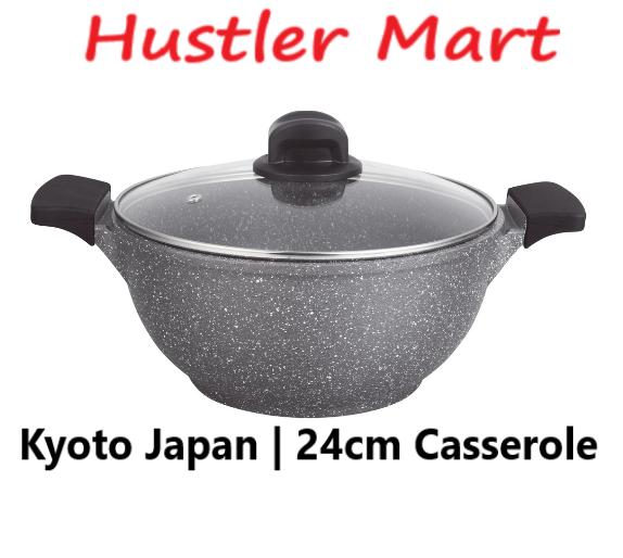 La gourmet Shogun Kyoto 24cm Casserole with Glass Lid