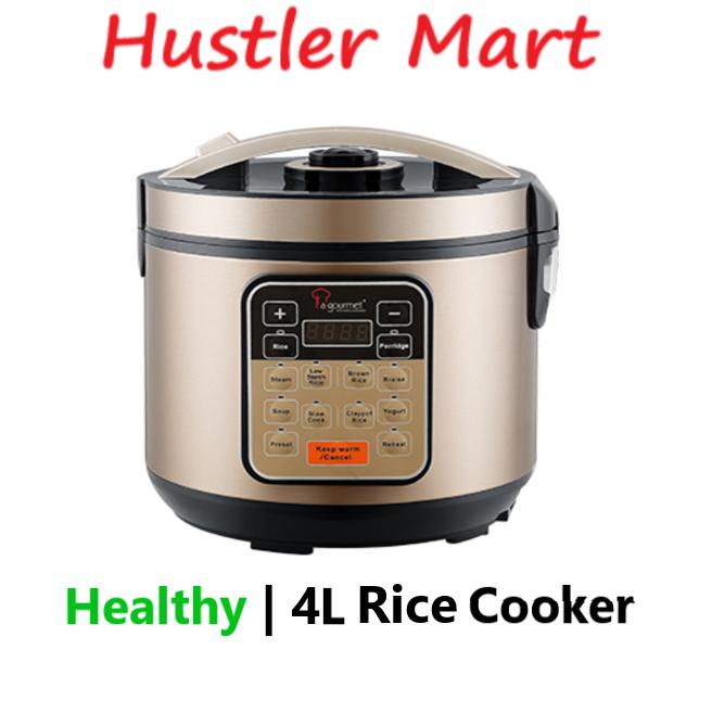 La Gourmet Healhty Rice Cooker 4L