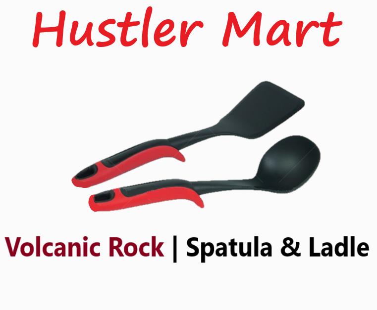 Cuoco Volcanic Rock Spatula & Ladle Set PCU01