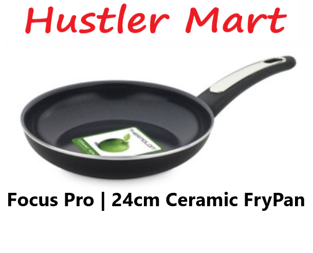 GreenPan Focus Pro 24cm Ceramic Non-stick Wok