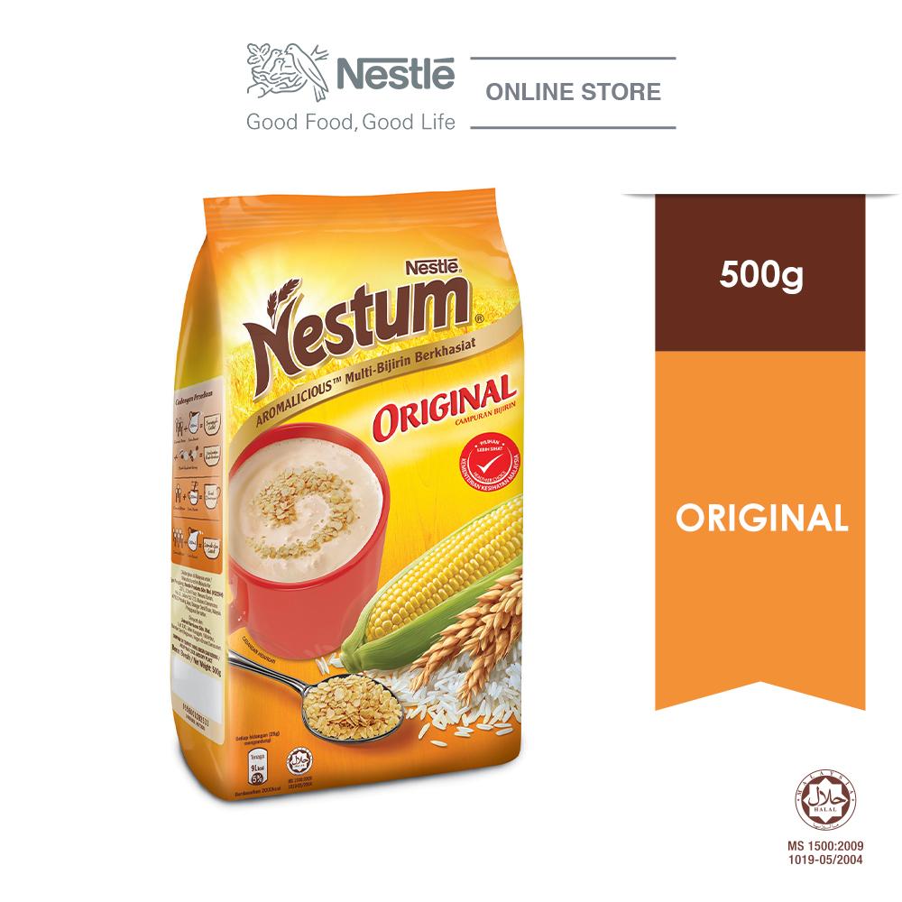 NESTLÉ NESTUM All Family Cereal Original Soft Pack 500g