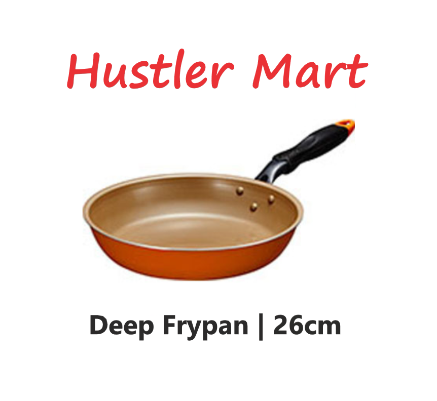 Evercook Deep Frypan 26cm
