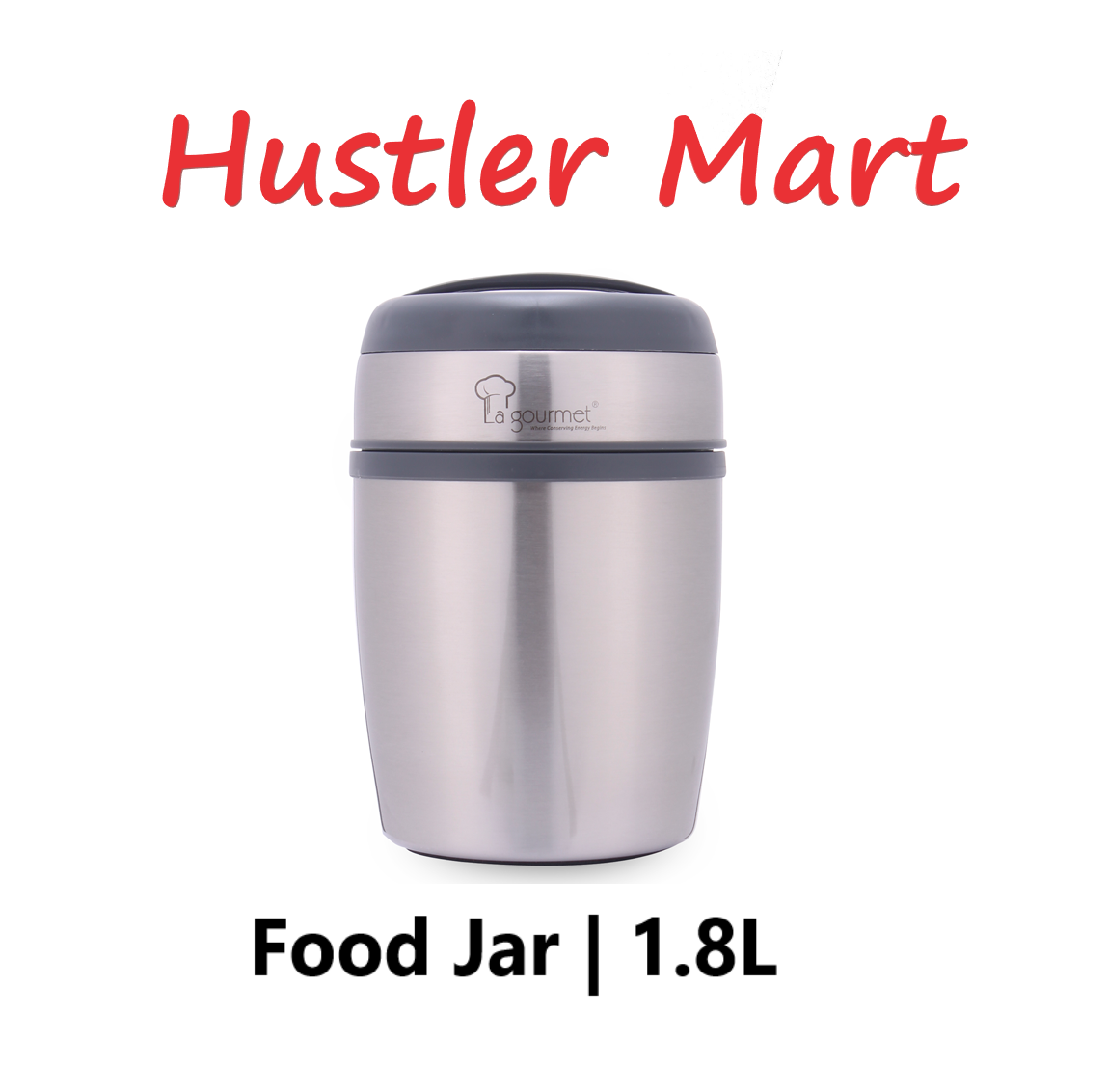 La Gourmet Sakura 1.8L Thermal Food Jar with Pressure Release