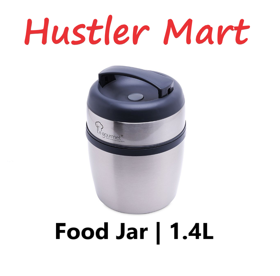 La Gourmet Sakura 1.4L Thermal Food Jar with Pressure Release