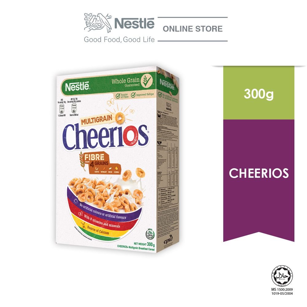 NESTLE CHEERIOS Cereal Large Box 300g