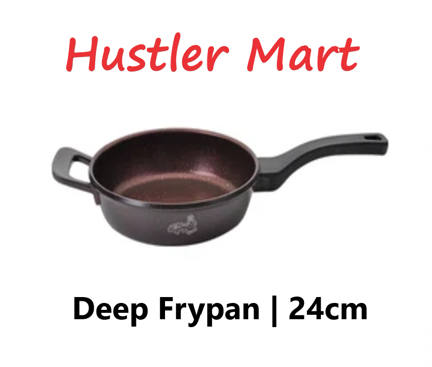 La Gourmet Shogun Chef Wan Collection 24cm x 6.5cm Deep Frypan