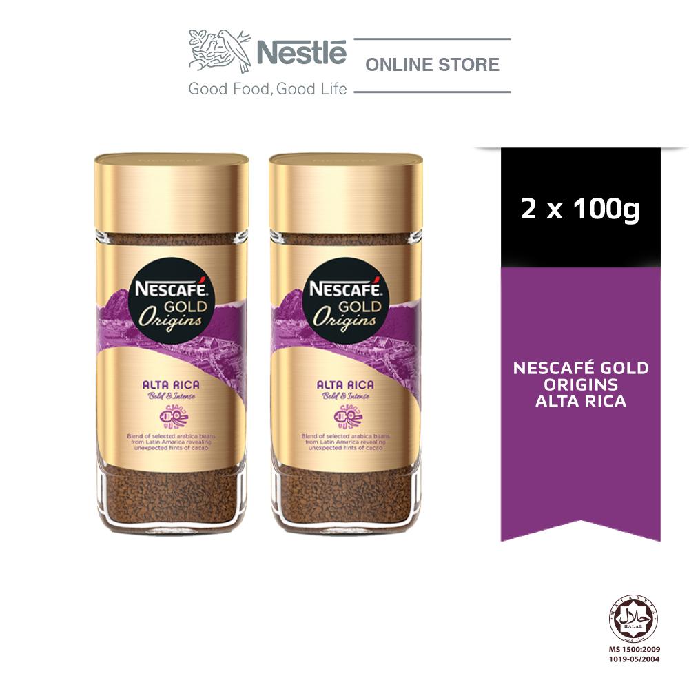 NESCAFE Gold Origins Alta Rica 100g Bundle of 2