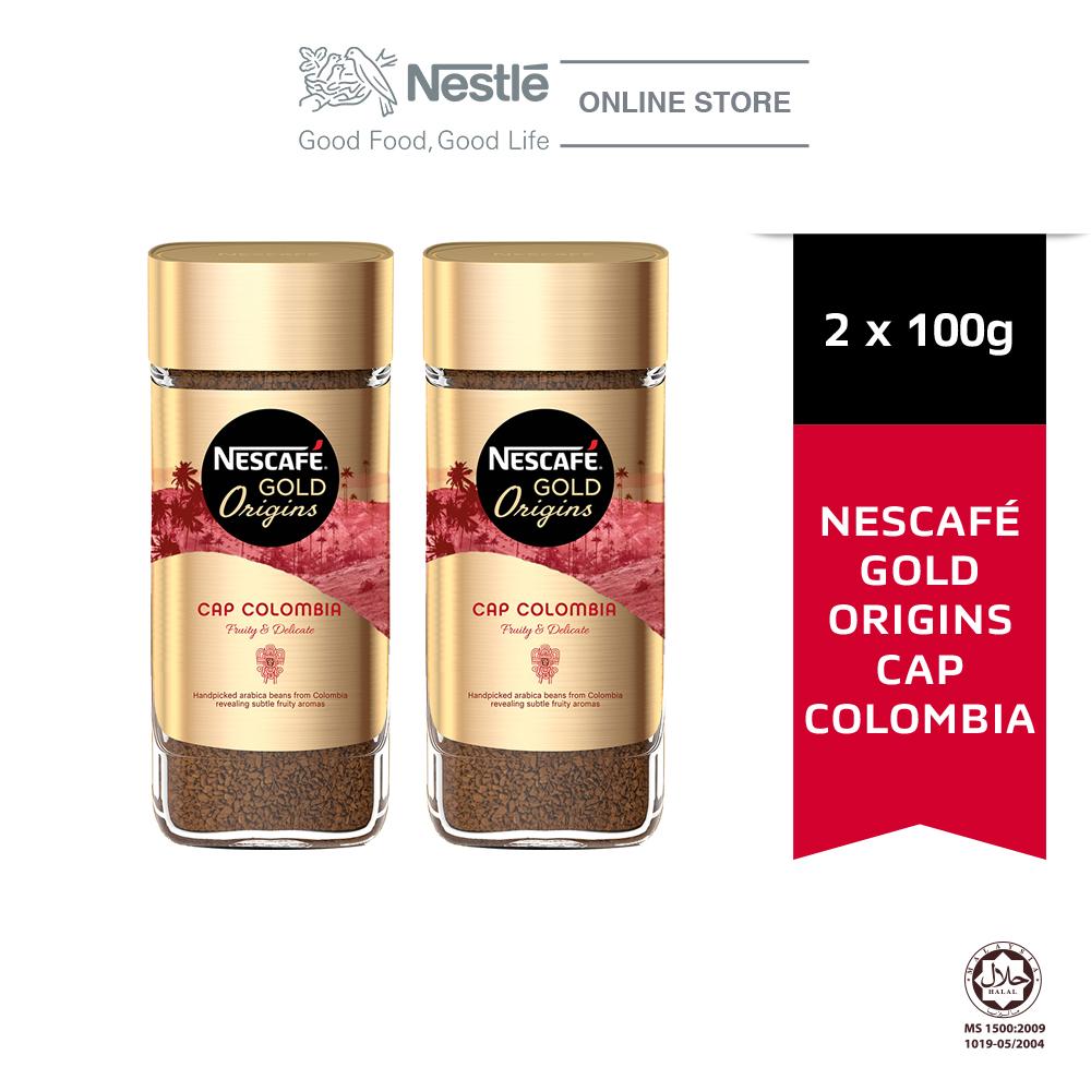 NESCAFE Gold Origins Colombia 100g Bundle of 2