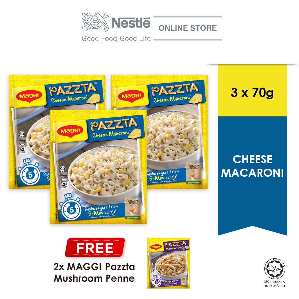 MAGGI PAZZTA Mushroom 64g (ExpDate:DEC20) Buy 3 Free 2 PAZZTA Cheese 70g