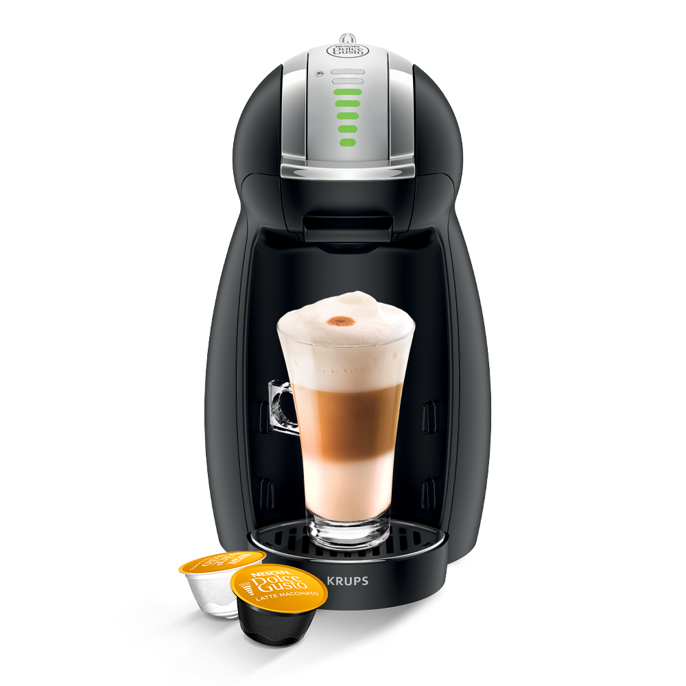 NESCAFÉ® Dolce Gusto Genio 2 (Black) Automatic Coffee Machine
