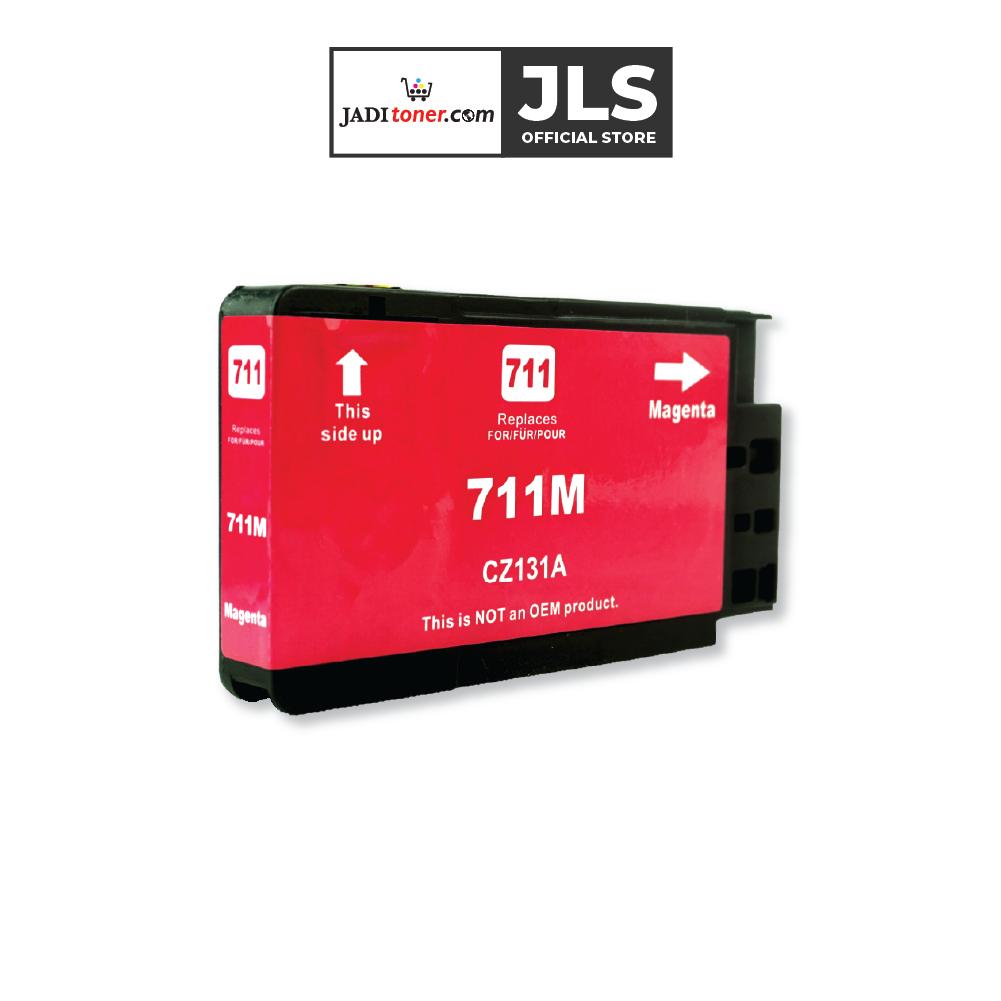 Jadi Remanufactured HP 711 29-ml Magenta Design Jet Ink Cartridge