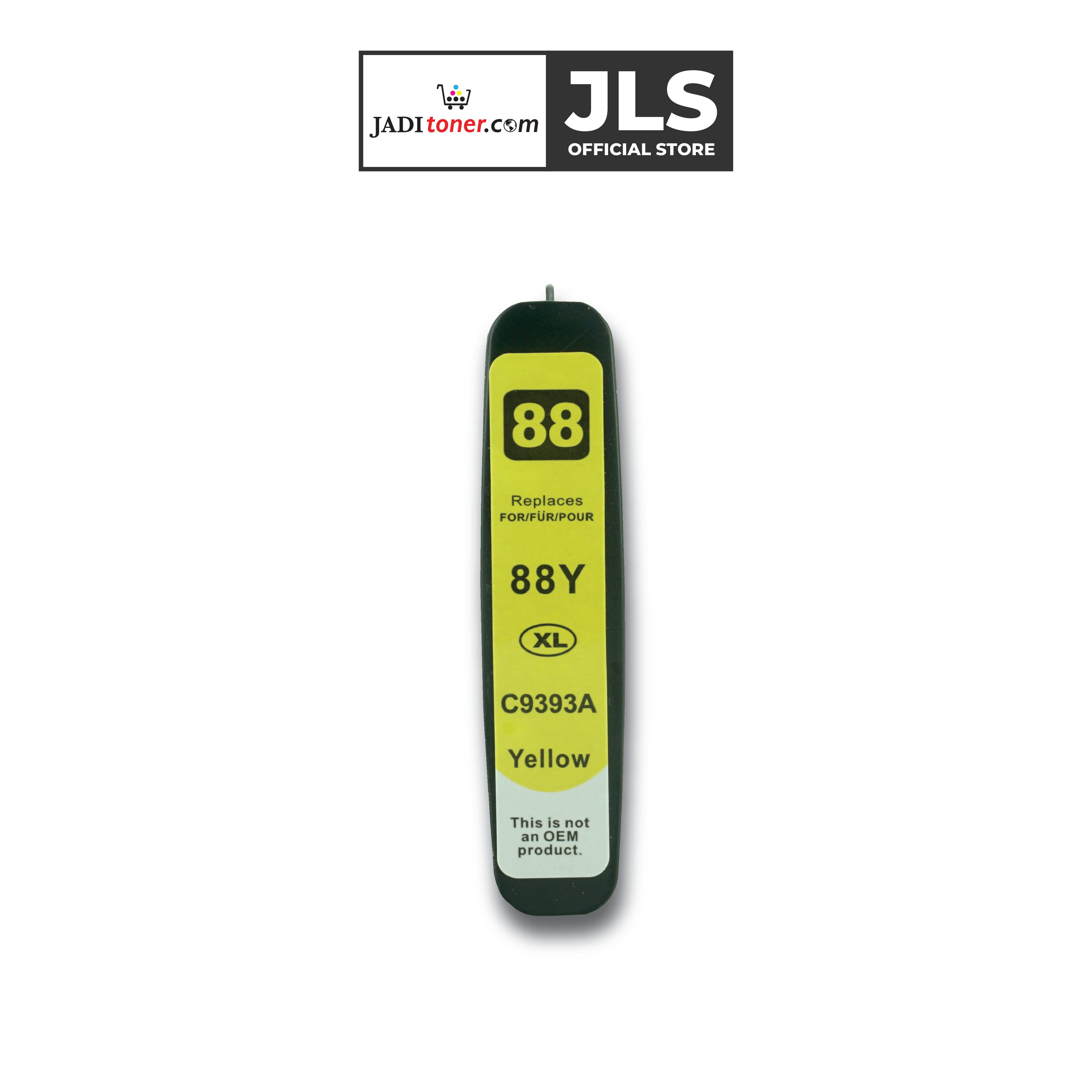Jadi HP 88 Yellow Remanufactured Ink Cartridge