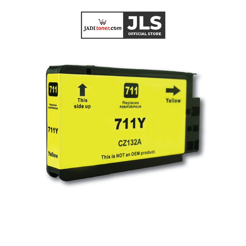Jadi Remanufactured HP 711 29-ml Yellow