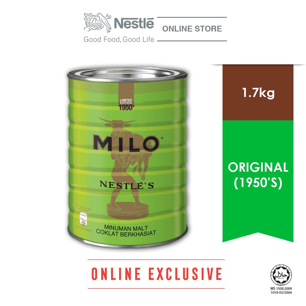 Nestle MILO Activ-go Vintage 1950s 1.7kg Bonus Pack