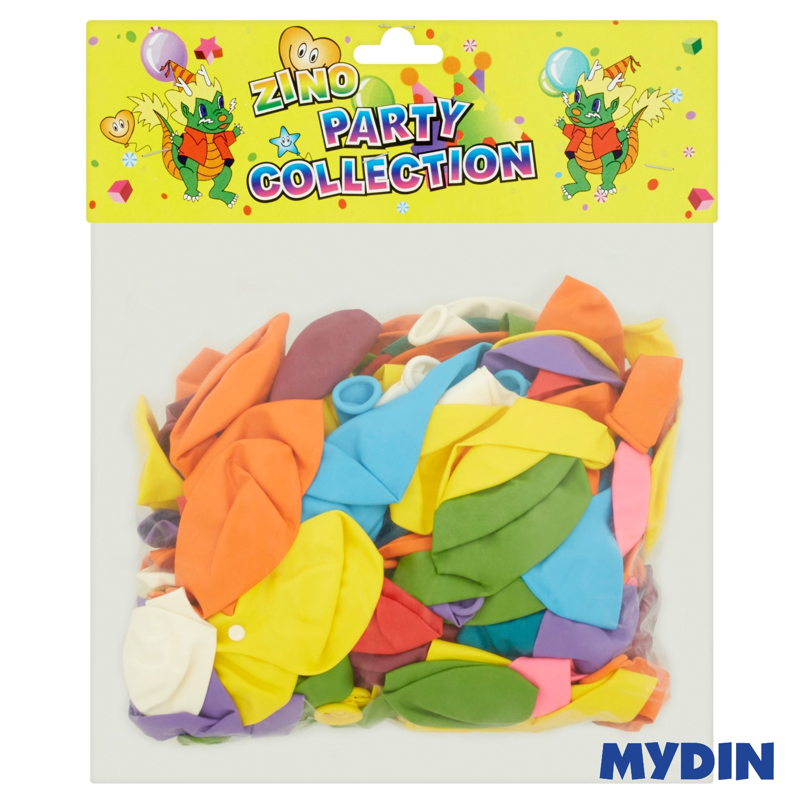 Zino Party Collection Standard Balloon YLM207 144pcs