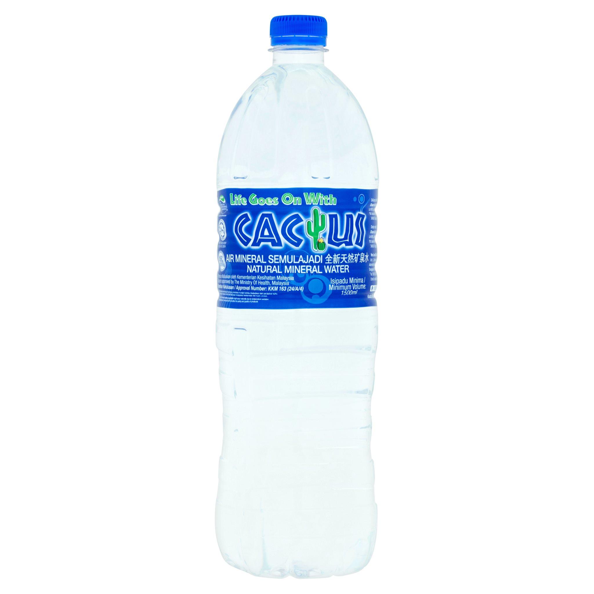 Cactus Natural Mineral Water (1.5L)