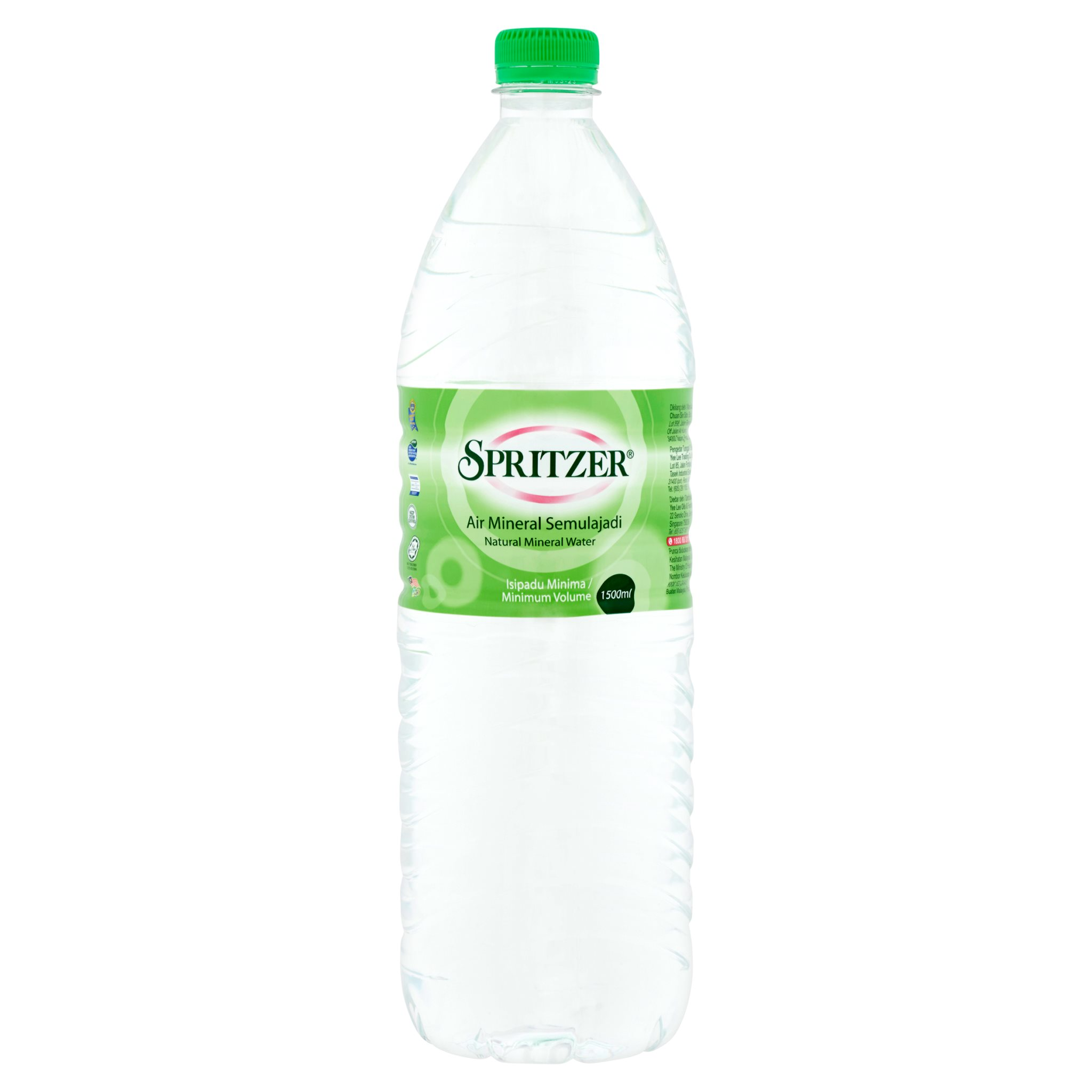 Spritzer Natural Mineral Water 1500ml