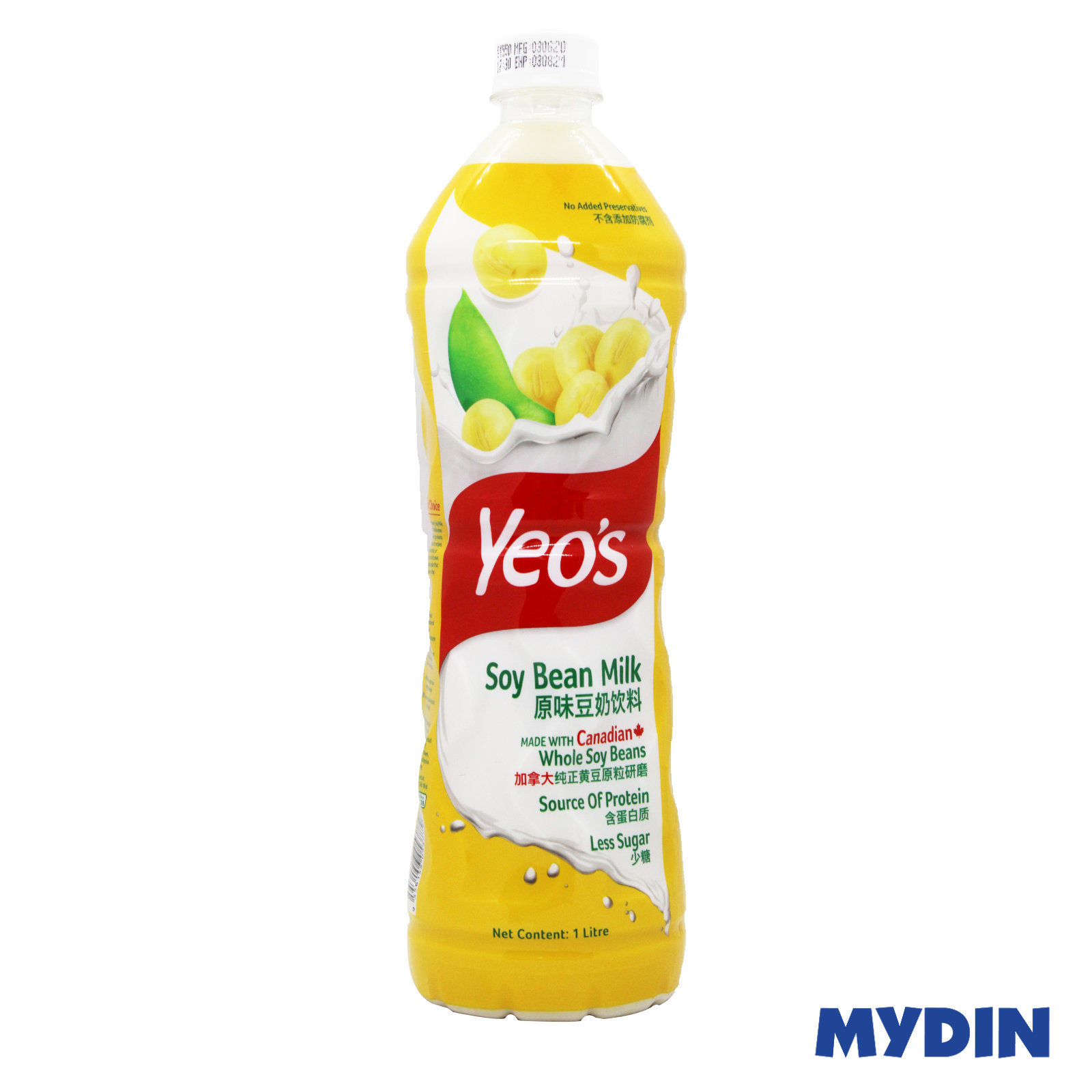 Yeos Asian Drink Soy Bean (1L)