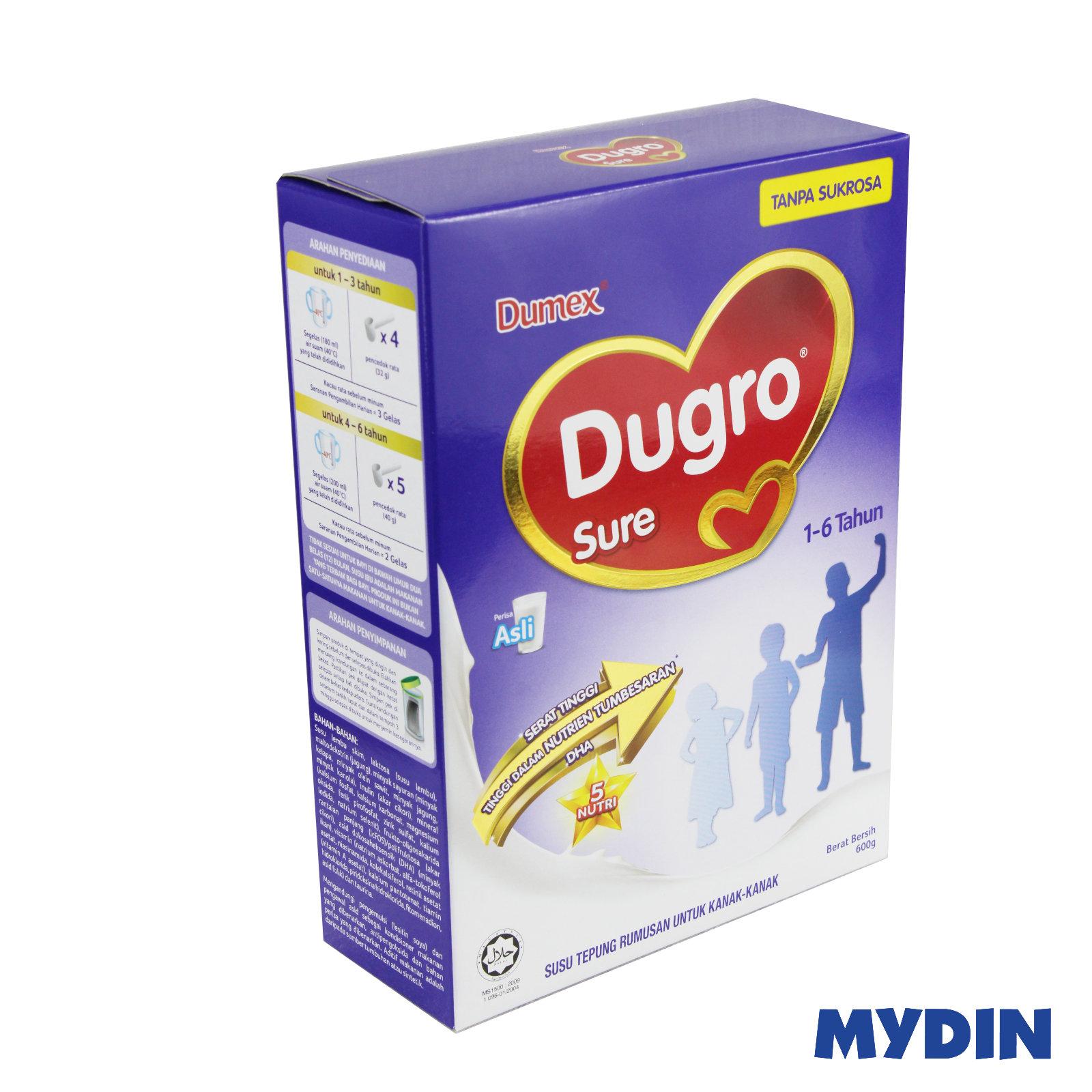 Dugro Sure Milk Powder (600g) - 2 Variants