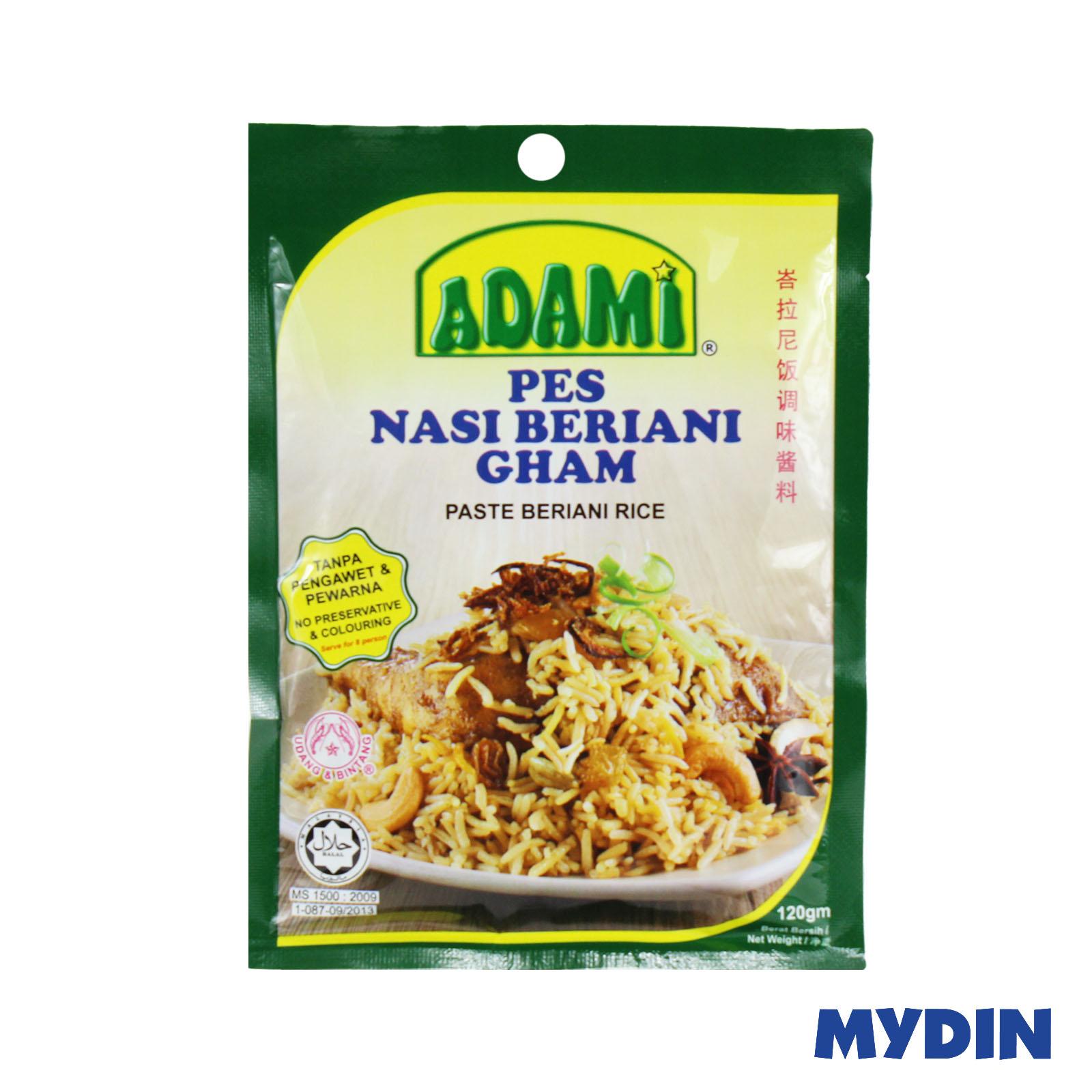 Adami Paste Beriani Rice 120gm